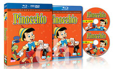 Pinocchio (1940) - (BLU-RAY/DVD 2-Disc Set)