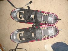 Yukon Charlie's chinook snow shoes in great condition size 26 by 8 inches.