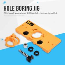 35MM Cup Style Concealed Hinge Boring Jig Drill Hole Guide Set Template For Kreg