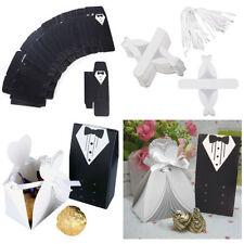 Bonbonnières de mariage noir sans marque
