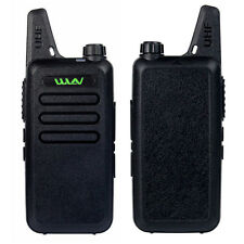 NEW Walkie Talkie WLN KD-C1 5W 400-470MHz CTCSS/DCS Scan Squelch Two Way Radio
