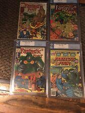 Fantastic Four Pgx Lot 84 85 86 200 1969 Kirby Sinnott Lee Dr Doom No Cgc 52 Yrs