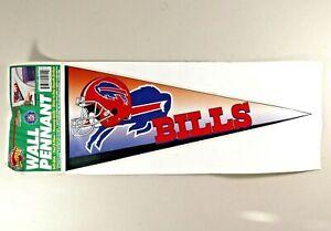 Vintage Buffalo Bills Self Stick Wall Pennants Peel & Place NFL 1996
