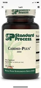 Standard Process Cardio Plus Dietary Supplement - 330 Tablets. Exp. 11/23/22