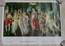 Sandro Botticelli•La Primavera•Oversize/Mural Poster 36x48 Ricordi Italy O/P