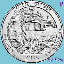 2018-P APOSTLE ISLANDS NATIONAL LAKESHORE (WISCONSIN) UNCIRCULATED QUARTER