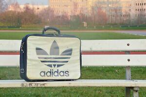 TRUE VINTAGE adidas Sport Sanitäter Koffer Blau 80er Sports parademic suitcase