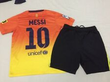 Barcelone Football Kit Pour Garçons Taille 10-12 ans Nike #10 Messi