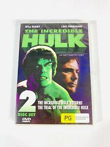 The Incredible Hulk Original Movie Films | Returns & Trial Of | RARE OOP 🇦🇺