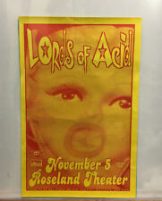 Lords of Acid Blow-Up Doll Original Concert Poster - Live at Roseland Theater