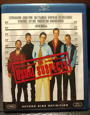 The Usual Suspects with ORIGINAL ARTWORK (US Blu-ray) LIKE NEW