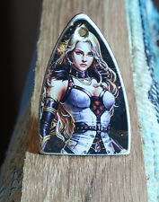Truss rod cover FANTASY GIRL Fits PRS guitar Handmade