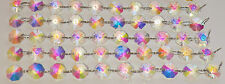 CHANDELIER CUT GLASS CRYSTALS DROPS ANTIQUE AB DROPLETS ICICLES PARTS PRISMS BN