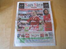 RIVISTA=SAN SIRO CALCIO 22/4/2012=MILAN-BOLOGNA