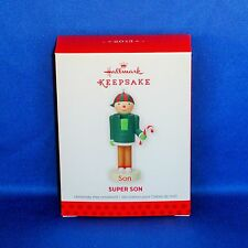 Hallmark - 2013 Nutcracker Family Super Son - Keepsake Christmas Ornament - NEW