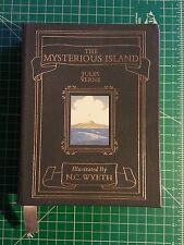 The Mysterious Island by Jules Verne Easton Press Collector's Edition N.C. Wyeth