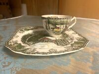 Friendly Village by Johnson Brothers 'Covered Bridge' Snack Plate and Cup