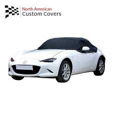 Rp262 Mazda Miata Mx5 Mk4 Convertible Soft Top Roof Half Cover 2015 To 2020