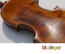Antique 4/4 Estate Violin 1-piece flame striped back