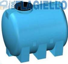 Serbatoio da esterno polietilene stoccaggio acqua CISTERNA Rototec litri 3000