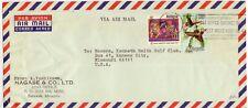1972 Sarawak Malaysia Nagase & Co A. Yoshikawa cover to US