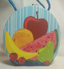 Punch Studios Box with 15 Note Cards and Envelopes Juicy Fruit 87914 Pattern