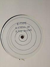 E-Type - Listen Up - Top Secret 1991  OLDSKOOL HARDCORE Boogie Times Records