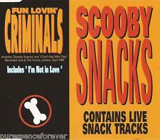 FUN LOVIN' CRIMINALS - Scooby Snacks (UK 4 Tk 1997 CD Single)