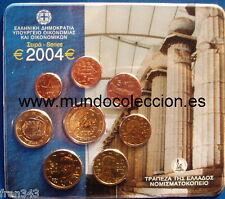 GRECIA CARTERA GREECE 2004 EURO OFFICIAL SET