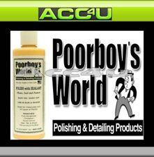poorboy's POORBOYS MONDIAL POLISH AUTO avec enduit Nettoie, Joint & protège