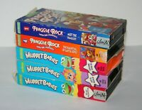 7 VHS lot -  It's the Muppets, Muppet Movie, 2 Fraggle Rock and 3 Muppet Babies