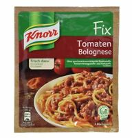 12 x KNORR FIX TOMATEN BOLOGNESE - GERMAN COOKING - ORIGINAL FROM GERMANY