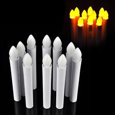 New 10PCS Flameless LED Tea Candle Light Wedding Birthday Party Decor Warm White