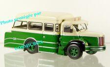 Tow truck BERLIET GLM 10 RATP diecast steel coach in 1960 ixo 1/43 NEW in box