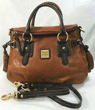 Dooney & Bourke~Toledo Leather Small Satchel~Natural~A261741~076