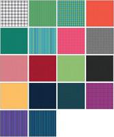 "Warp & Weft (42)10"" squares Fabric Layer Cake PreCut Cotton Quilting 100% Cotton"