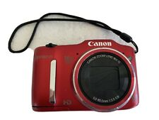 Canon PowerShot SX160 IS  MP Digital Camera - Red
