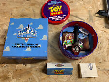 1996 Toy Story Fossil Limited Edition Wrist Watch In Tin Box BUZZ LIGHTYEAR 1996