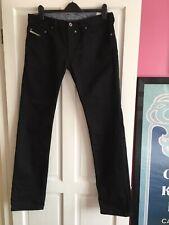 Mens Diesel 34W 35L Black Safado Regular Slim Jeans ⭐️Great Condition ⭐️