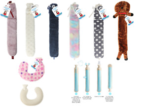 Extra Long Hot Water Bottle with Cover Removable Cover Full Body Warmth 75CM