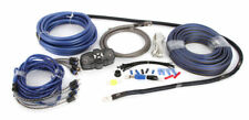 NVX XKIT44 4-Ch 4 Gauge Car Amplifier Install Pure Copper Amp Kit w/ RCA Cable