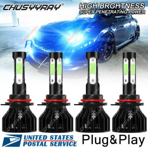 For Nissan Altima 2002-2006 - 8000K Ice Blue LED Headlight High & Low Beam Bulb