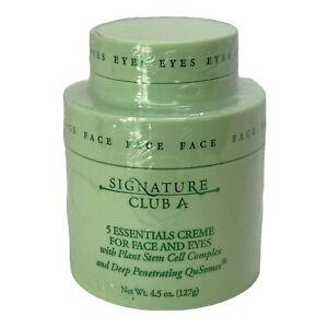 Signature Club A 5 Essentials Creme with Plant Stem Cell 4.5 oz