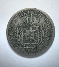PORTUGAL 1900 100 REIS.  KING D. CARLOS  ***FREE SHIPPING***