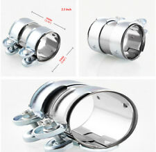 1PCS Muffler Downpipe 2inch Stainless Steel Exhaust Clamp Clamps Downpipe