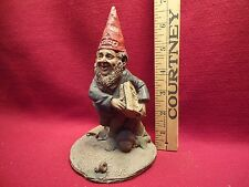 Crowell with Newspaper by Artist Tom Clark Gnome Figurine Year 1984