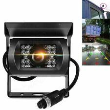 4 Pin 18 LED 12-24V Car Rear View Reverse Camera IR REVERSING CAMERA Truck Van