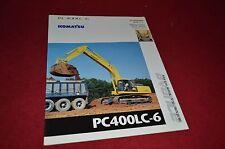 Komatsu PC400LC-6 Excavator Dealers Brochure DCPA2