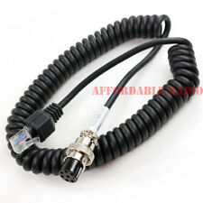 Kenwood to Yaesu modular mic microphone cable MC-90 MC-60 FT-450D FT-897D FT-991