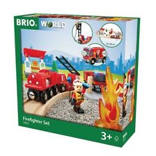 BRIO 33815 Firefighter set, Railways set.Brand new. Free Post with tracking